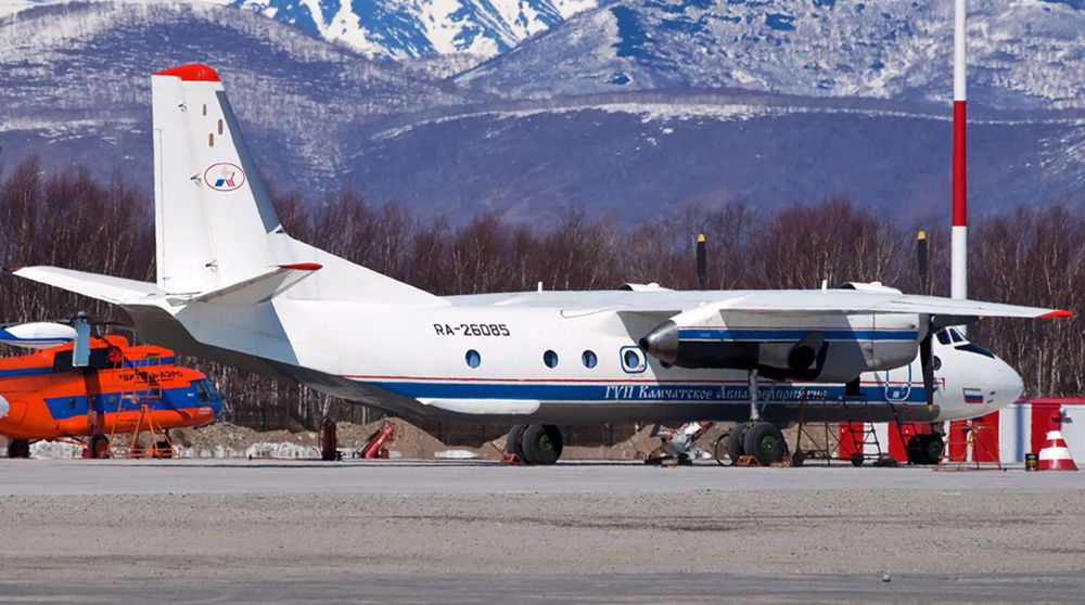 Passenger plane carrying 28 crashes in Russia's Far East
