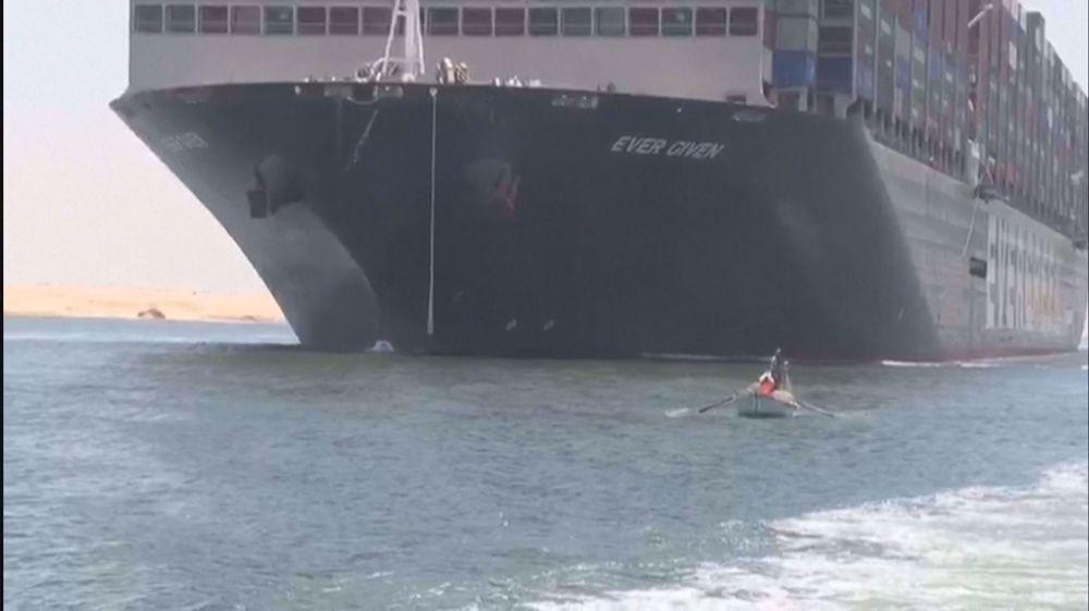 Egypt releases megaship impounded over Suez blockade