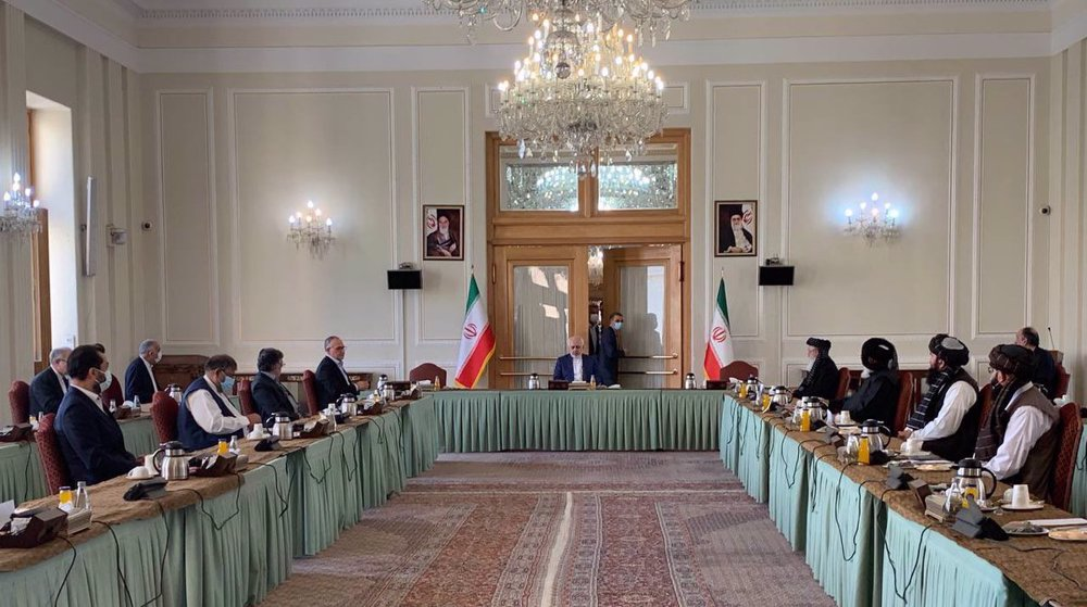 Hosting intra-Afghan talks, Iran says ready to help restore peace to its neighbor