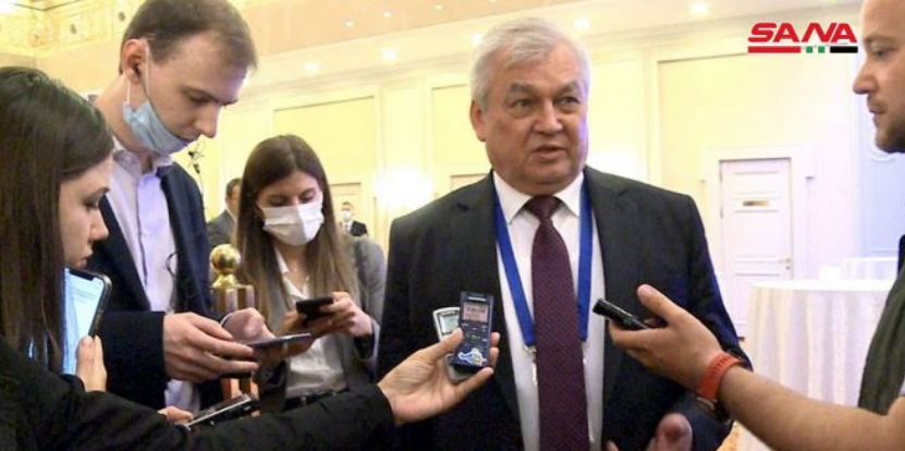 Russia: All humanitarian aid to Syria should be delivered through govt.