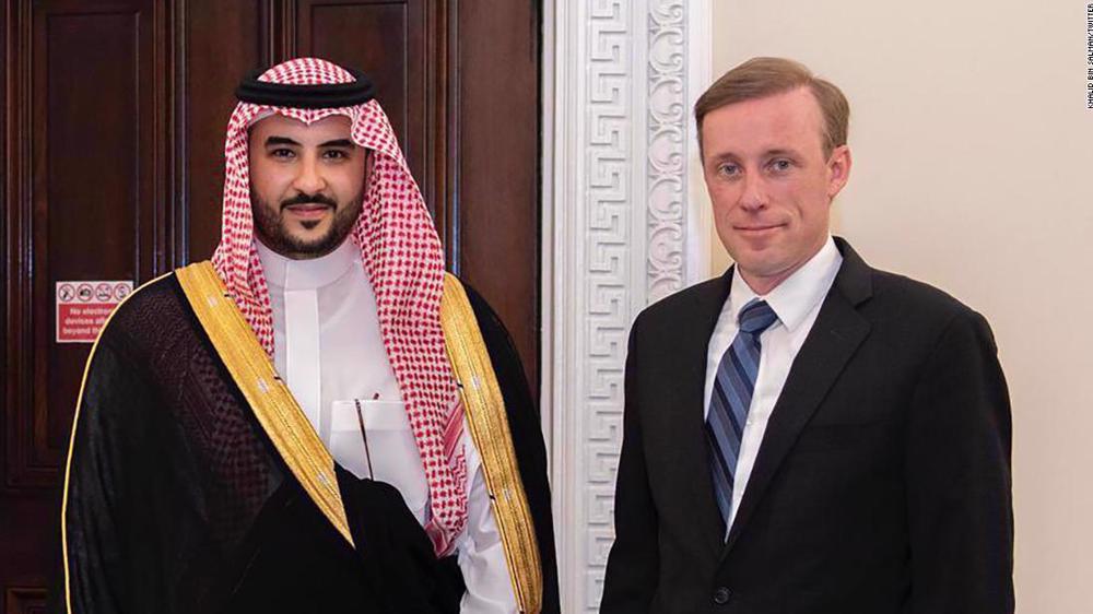 Biden administration welcomes Saudi prince tied to Khashoggi murder