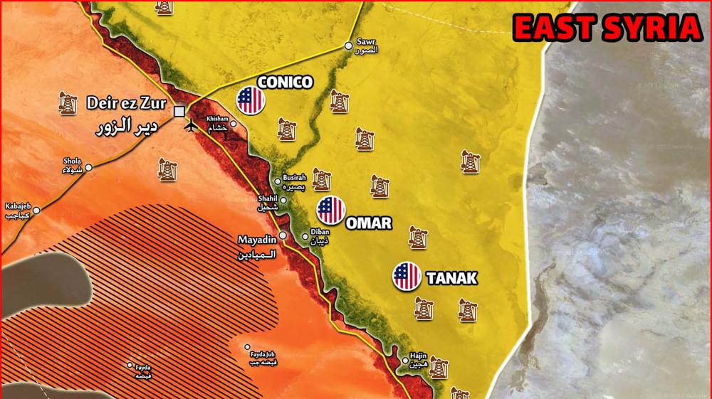 Syrie: 1er essaim de drones anti-US frappe!