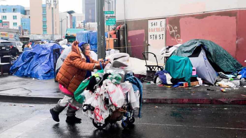 Los Angeles criminalizes being homeless in the city