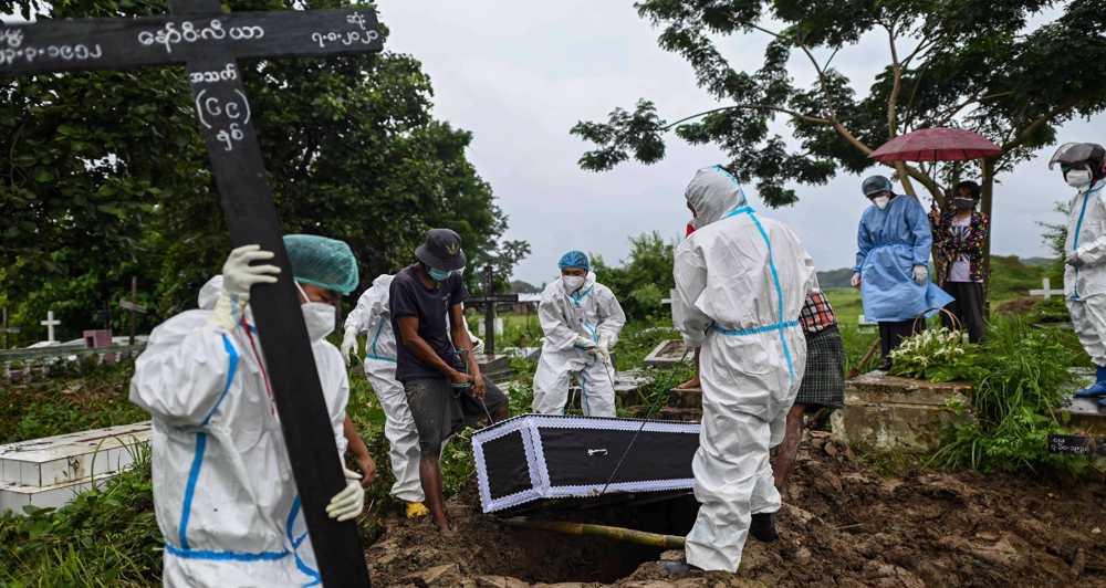 Rights groups say Myanmar military attacking medics, hindering COVID-19 response