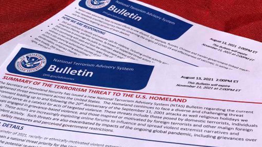 US Homeland Security warns of new terror threat on 9/11 anniv.