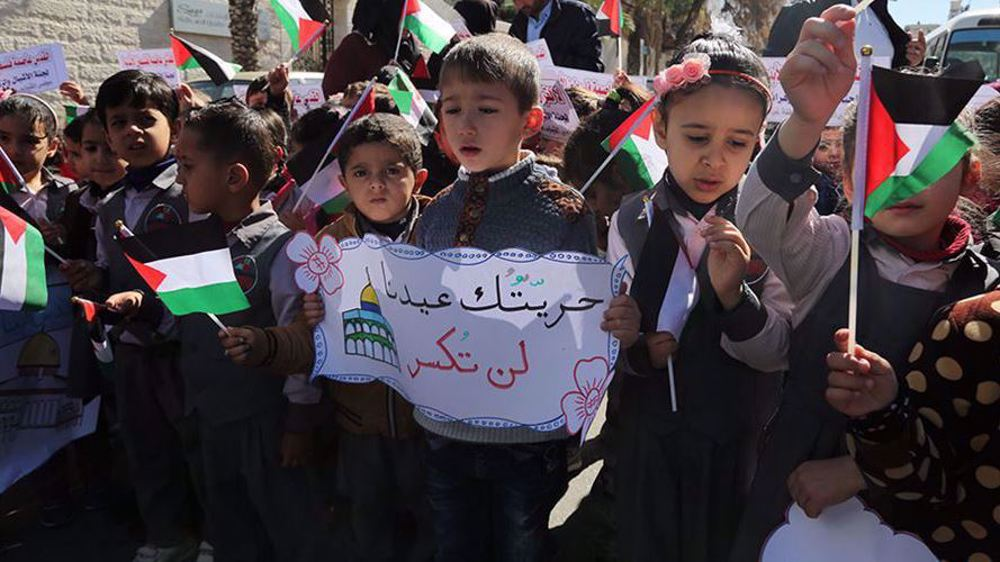 UN: Palestinian children need both education and security