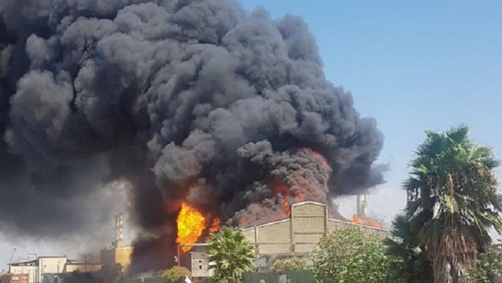 Explosions et incendies à Haïfa!