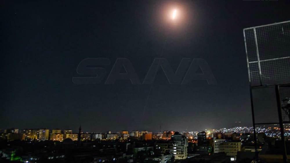 Video: Syria confronts hostile Israeli targets over Damascus, Homs