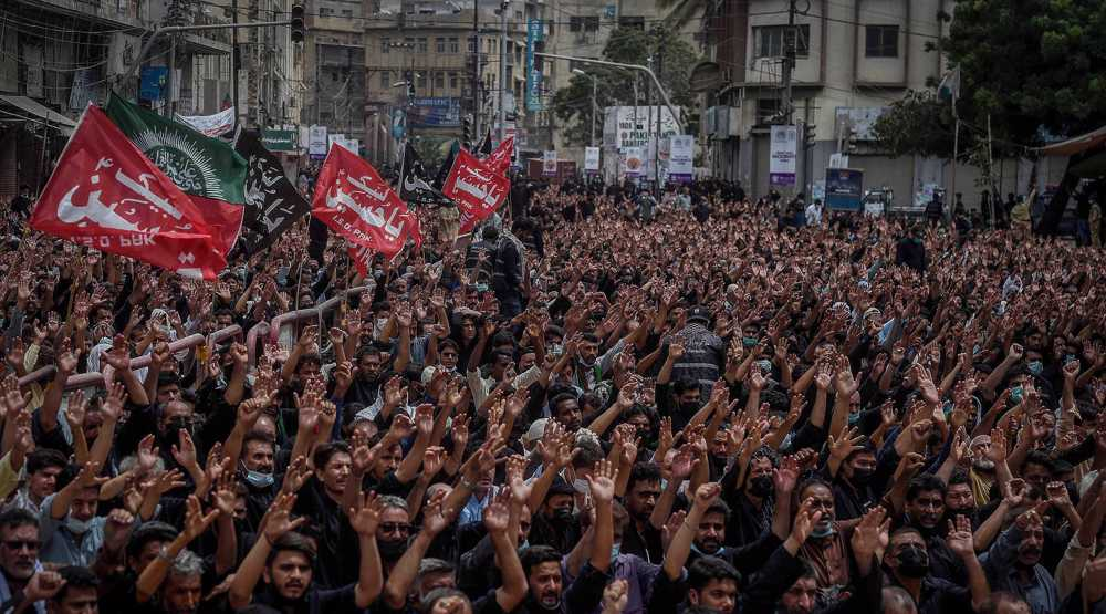 Muslims commemorate Ashura in Pakistan's city of Karachi