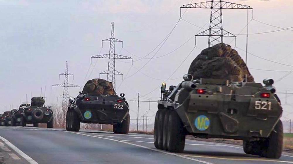 Russian, Uzbek troops begin joint Afghan border drills