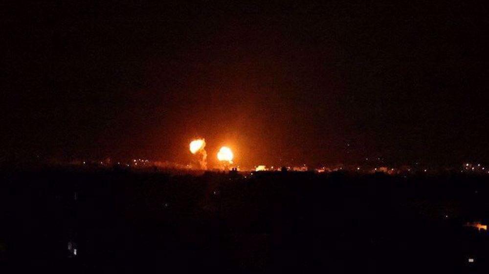 'Massive explosion' rocks central Gaza after Israeli attack