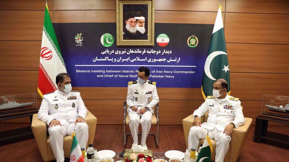Iran, Pakistan key players in maintaining maritime security: Navy commander
