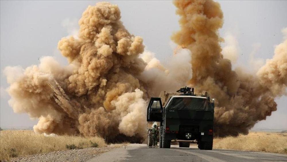Irak: l'US Army criblée de bombes!