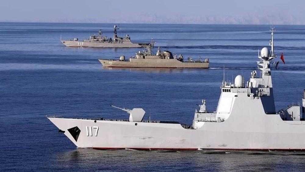 Chine: l'Iran expulsera l'US Navy