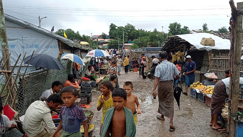 Child refugees mark anniversary of Myanmar's crackdown on Rohingya