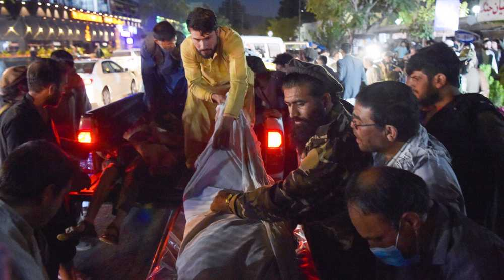 90 Aghan civilians, 13 US troops killed in Kabul attack claimed by Daesh