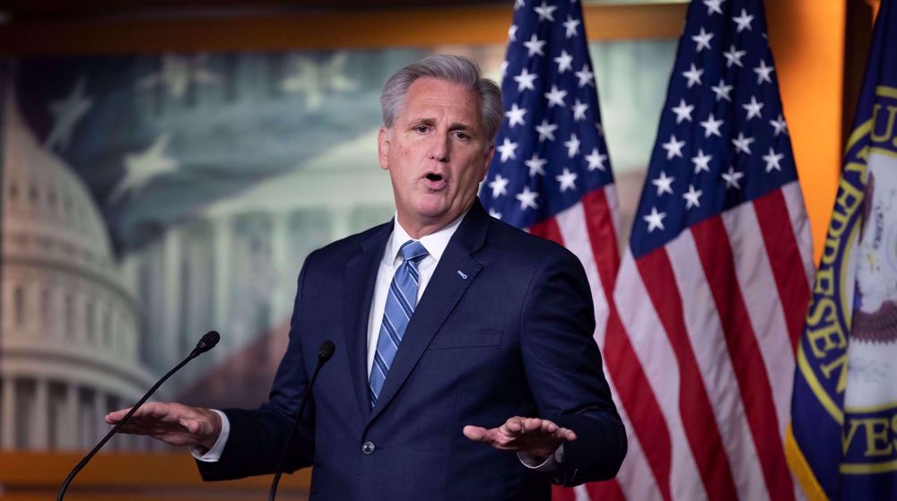 US House minority leader: 'There will be a day of reckoning' for Biden