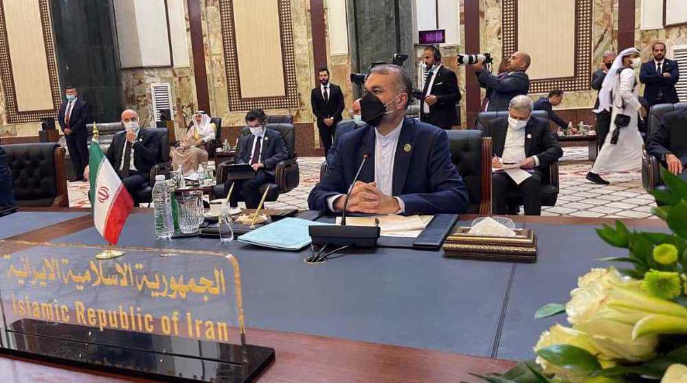 Iran's new FM reaffirms need for sustainable regional security at Baghdad Intl. Conference 'For Cooperation and Participation'