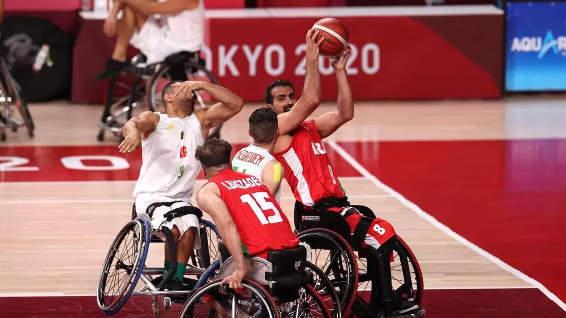 Tokyo Paralympics: Iran Wheelchair Basketball beats Algeria 81-47
