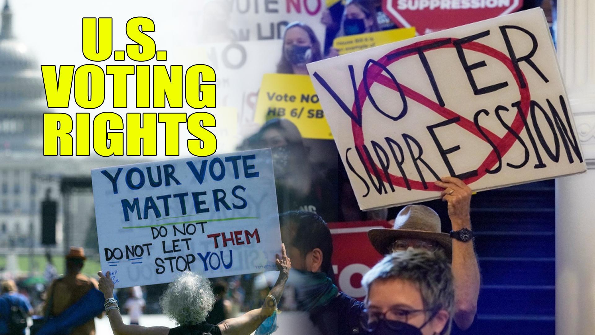 US voter suppression, racism