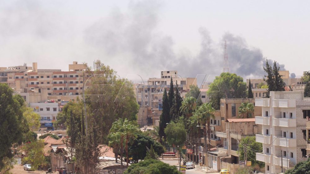 Syrian army responds to deadly attacks by terrorists holed up in Dara'a
