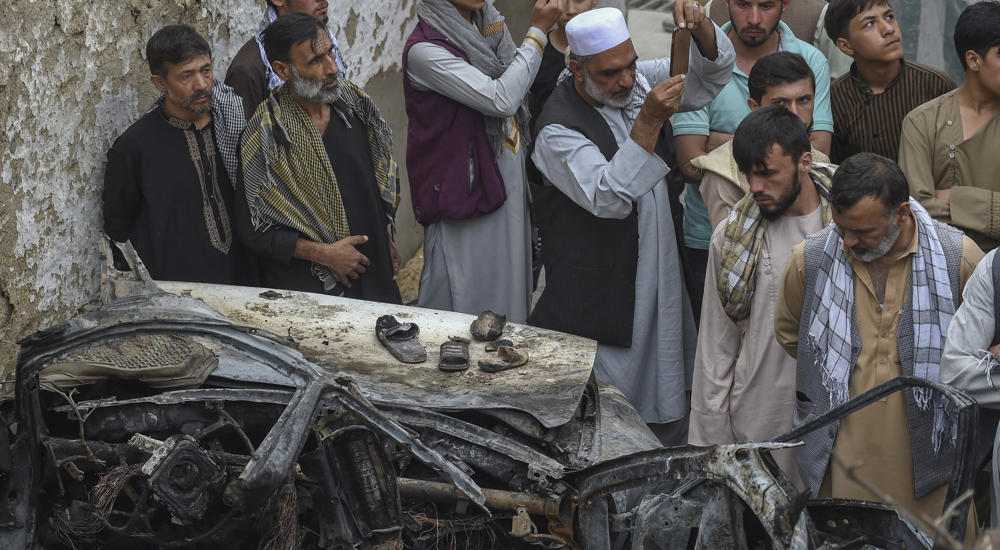 Enraged Afghans on US drone strike: They killed innocent kids, not Daesh bombers