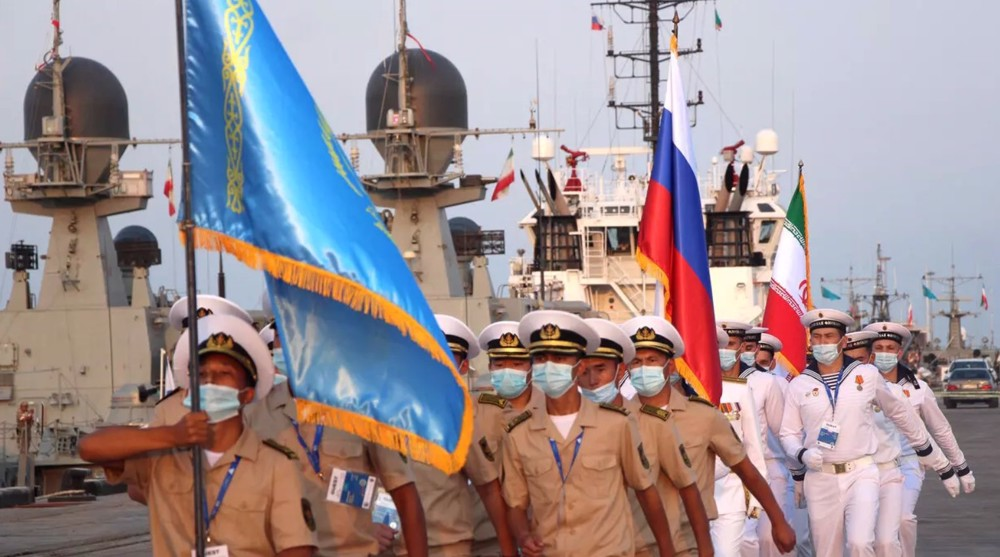 Nouvel exercice naval irano-russe!