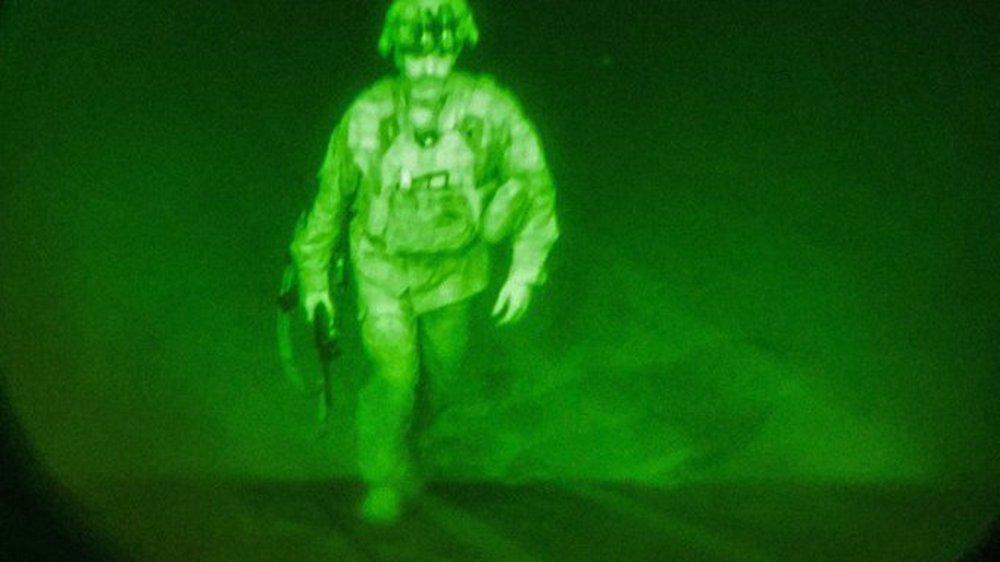 Pentagon names last US soldier to leave Afghanistan