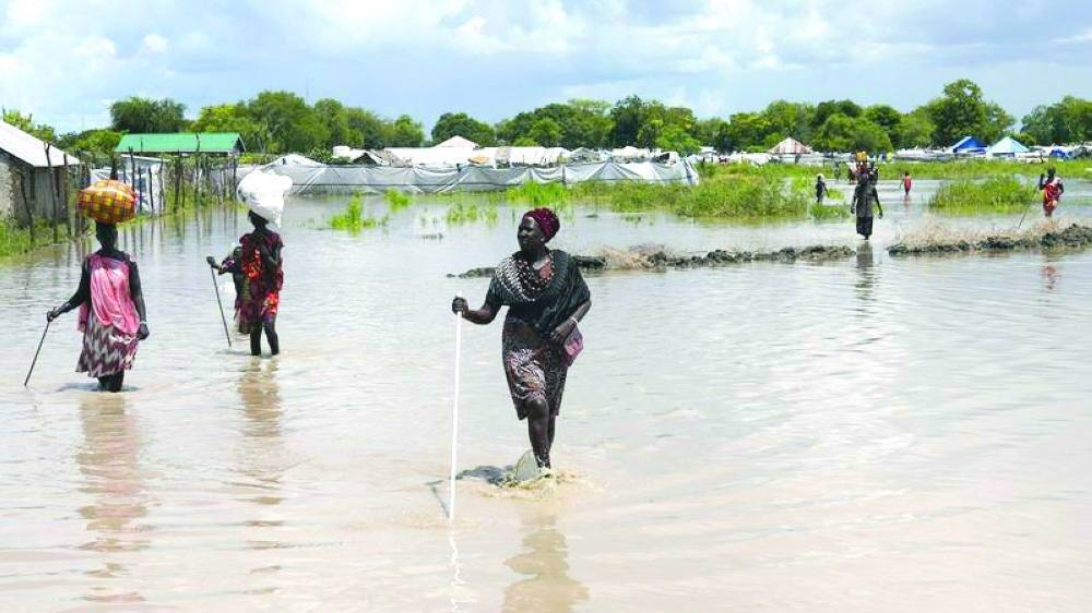 380,000 affected by heavy flooding in South Sudan: UN