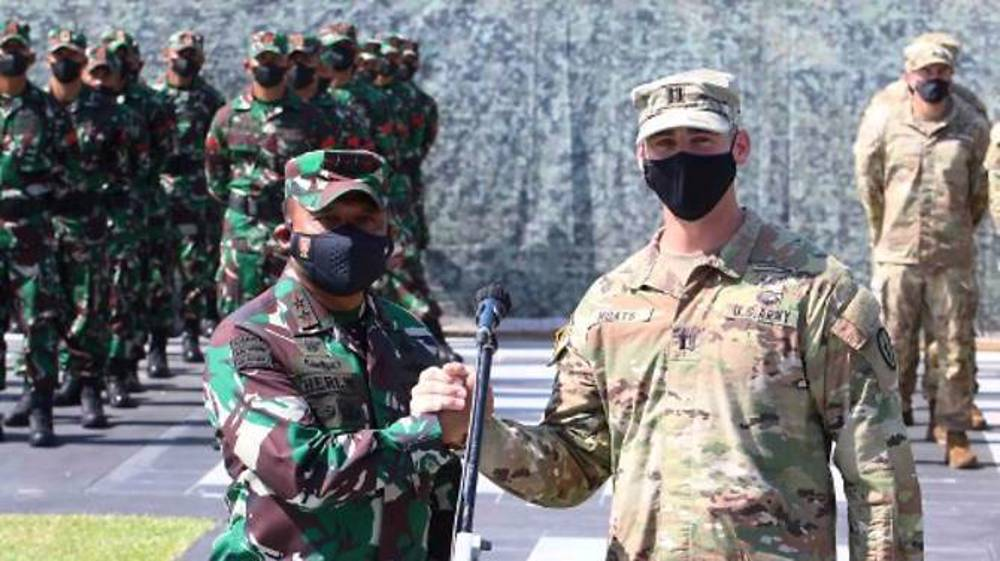 Indonesia, US stage joint military drills