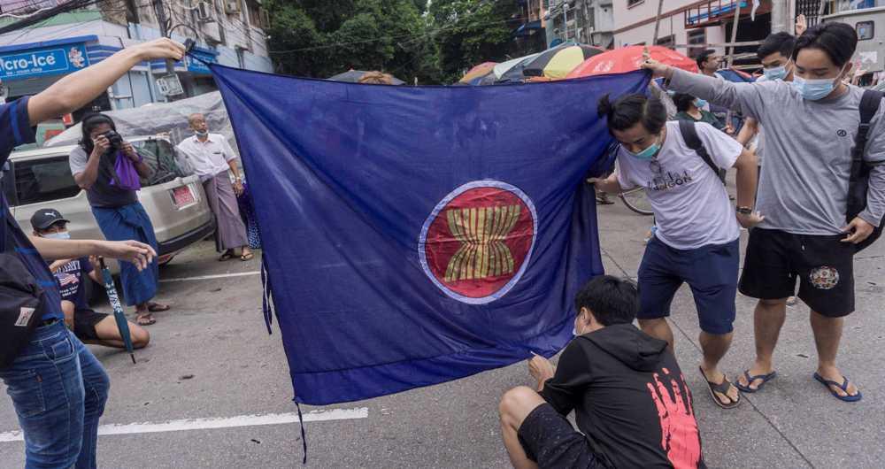 ASEAN urged to address Myanmar's post-coup turmoil