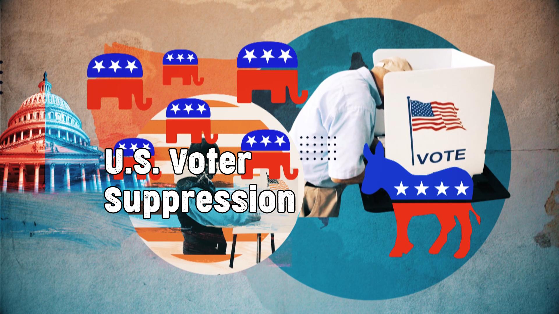 US voter suppression