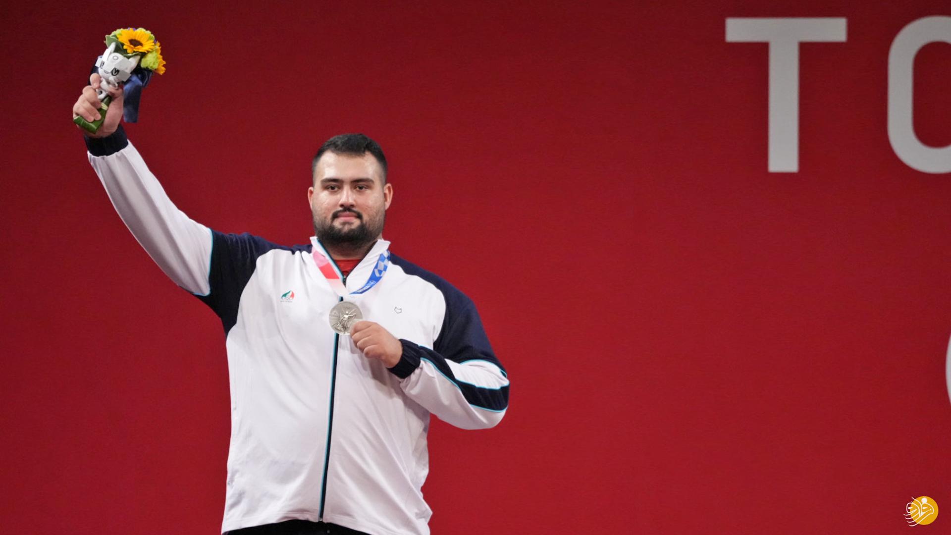Tokyo Olympics: Iran weightlifter Ali Davoudi takes silver in +109 KG