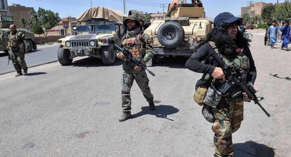 Taliban say targeting Afghan provincial cities in retaliation for US aerial raids