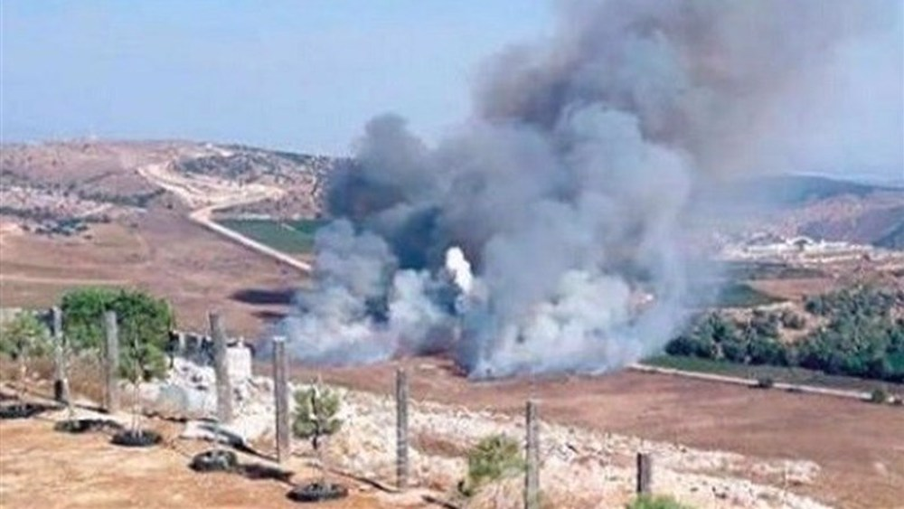 Hezbollah retaliates against Israeli bombing with rocket barrage