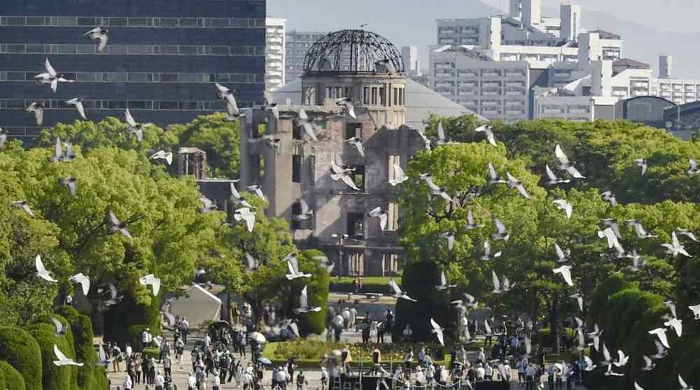 Hiroshima marks anniversary of US atomic bombing, Olympics avoids mention