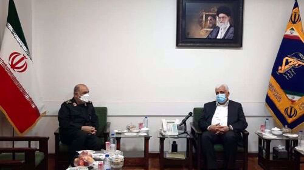 IRGC stresses support for Hashd al-Sha'abi in fighting occupation