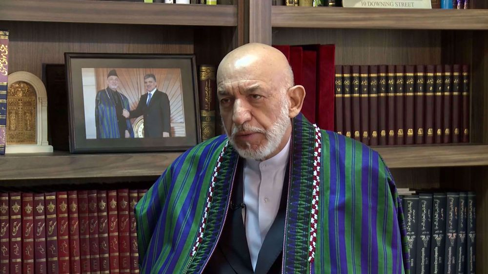 Interview with former Afghan president Hamed Karzai