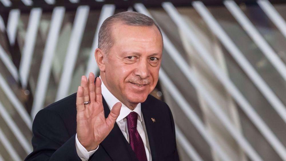 Erdogan draws online mockery for assigning outsize status to Turkey
