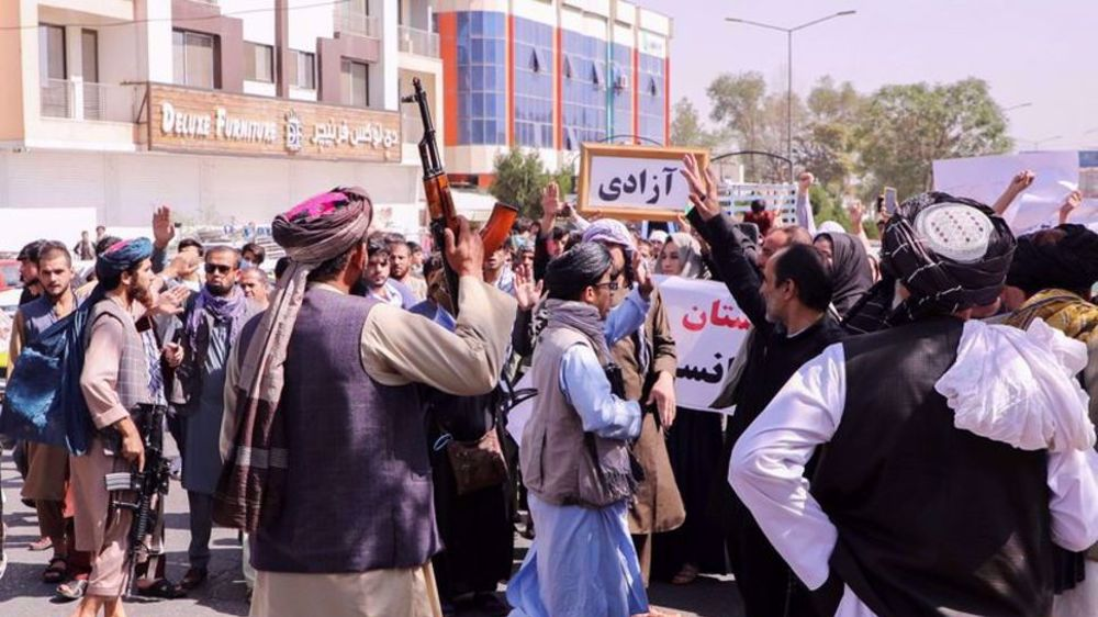 Taliban response to Afghan protests 'increasingly violent': UN