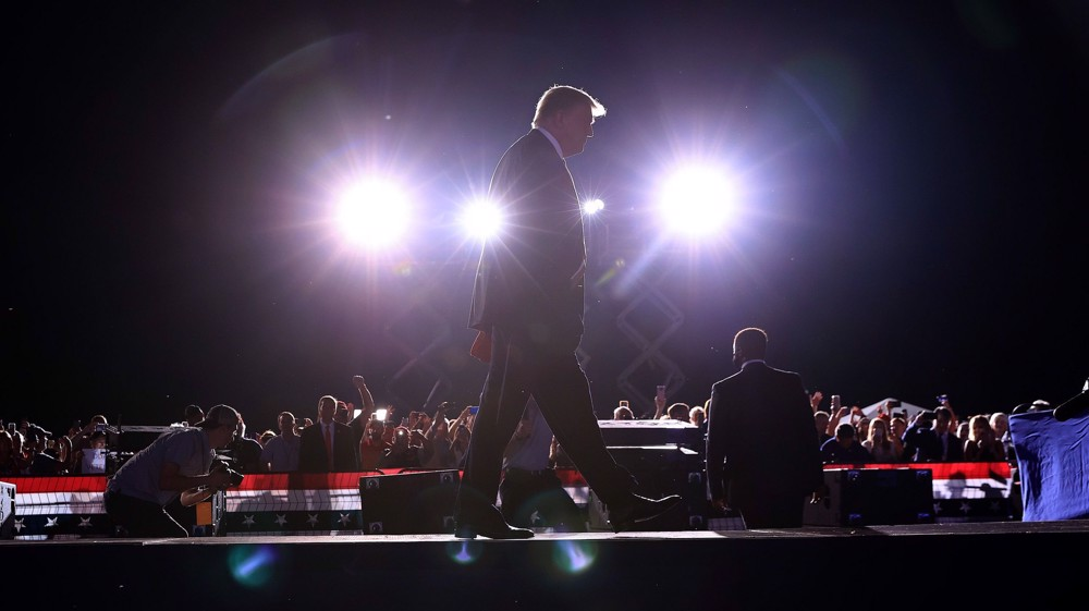 Would-be rivals apprehensive of prospect of Trump's 2024 bid