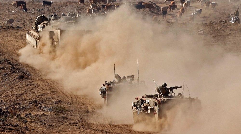 Forte explosion au Golan