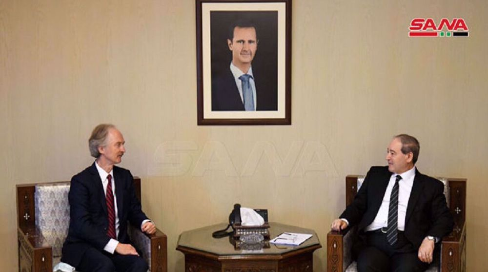 Syria slams foreign intervention, urges respect for national sovereignty