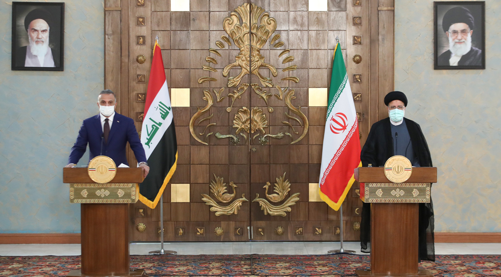 Iran, Iraq resolute on expansion of ties in all fields despite enemies' plans: President Raeisi