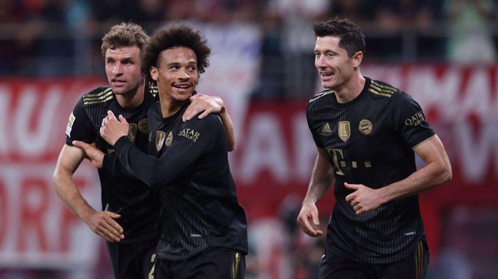 German Bundesliga: Bayern Munich 4-1 RB Leipzig