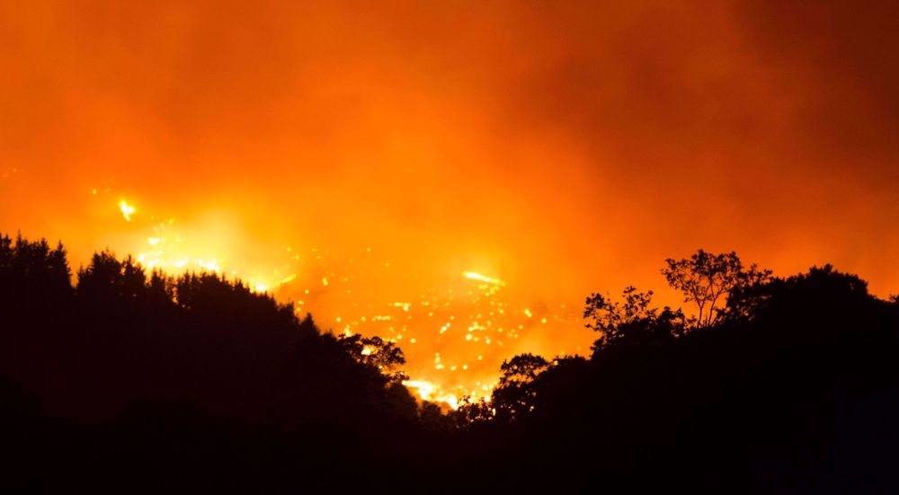 Spanish wildfire blazes for sixth day