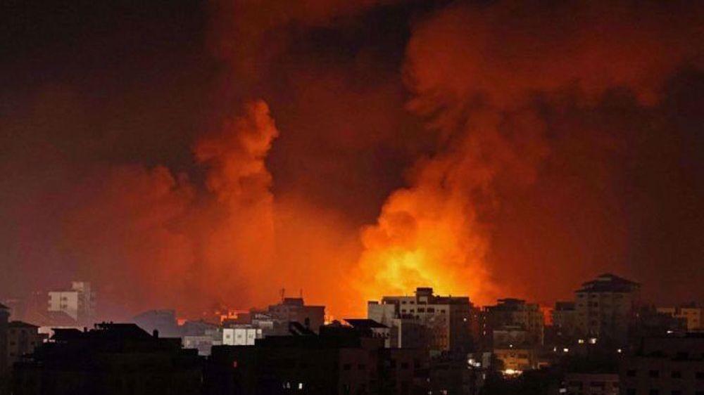 Israeli warplanes, drones strike resistance bases across Gaza