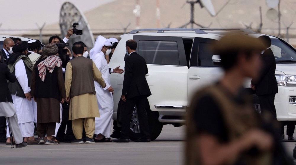 Qatar FM holds first high-level meeting with Taliban in Kabul