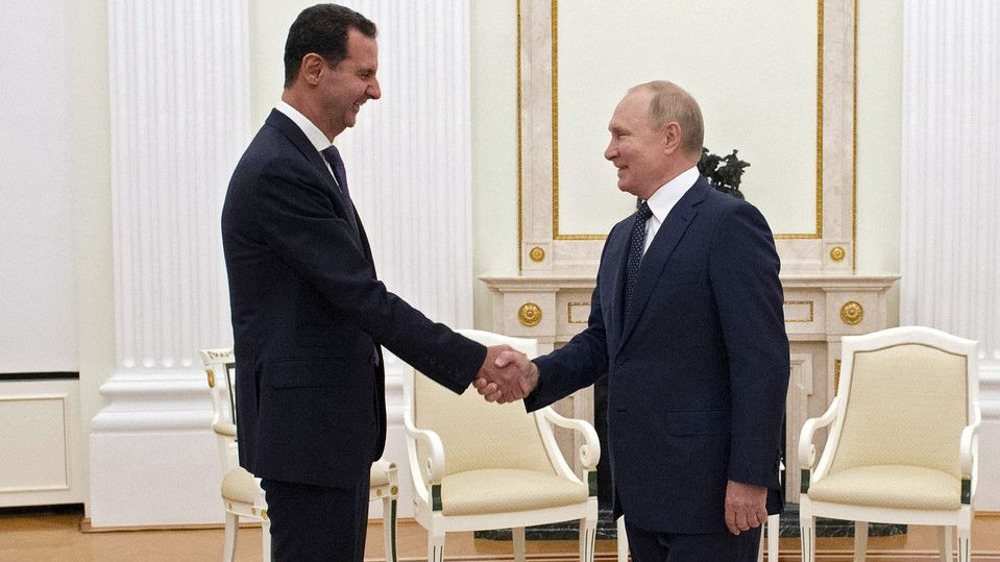Syria's Assad makes surprise visit to Russia, meets with Putin