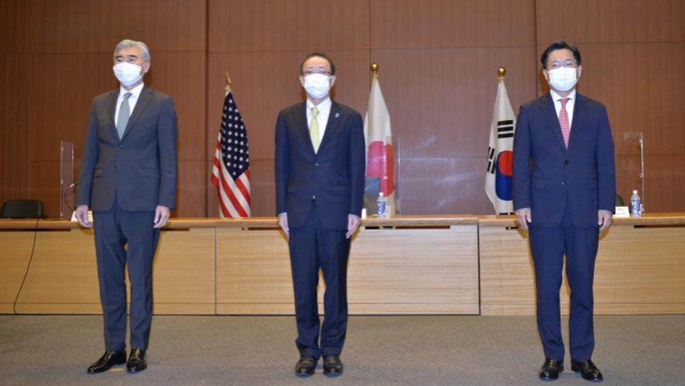 US, South Korea, Japan representatives meet on North Korea's test-fire